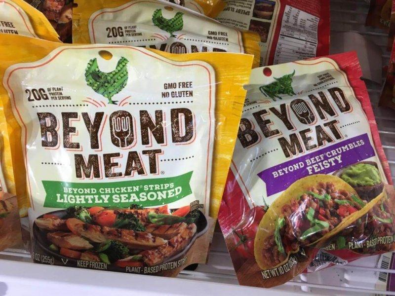 Beyond Meat Vegan Food