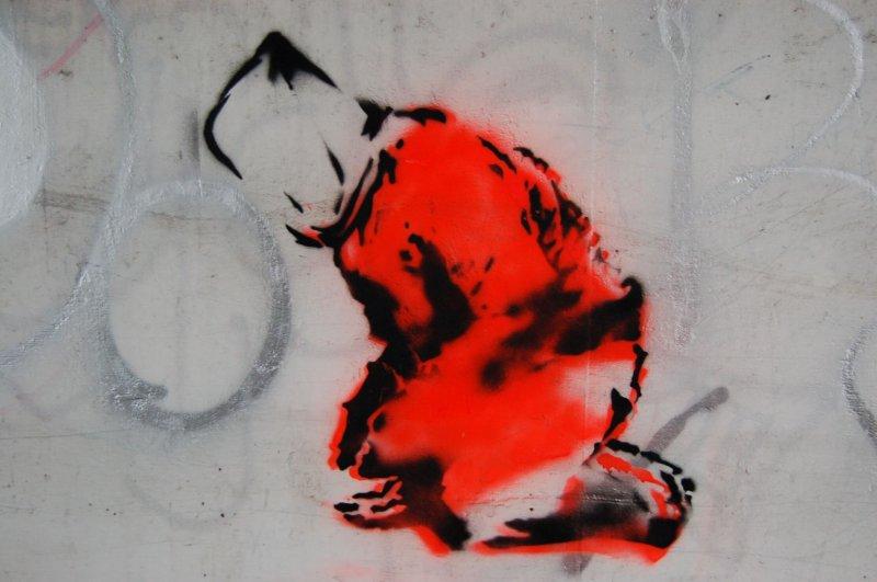 Guantanamo prisoner graffiti