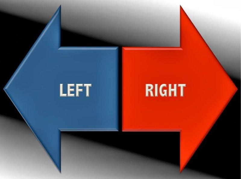 Left right arrows