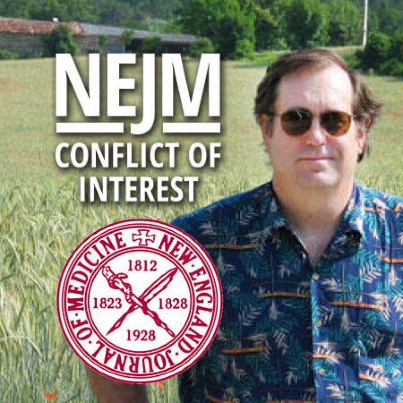 NEJM Benbrook conflict of interest