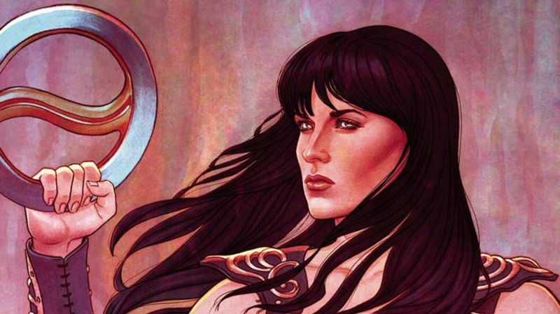 Xena Comic cover featured