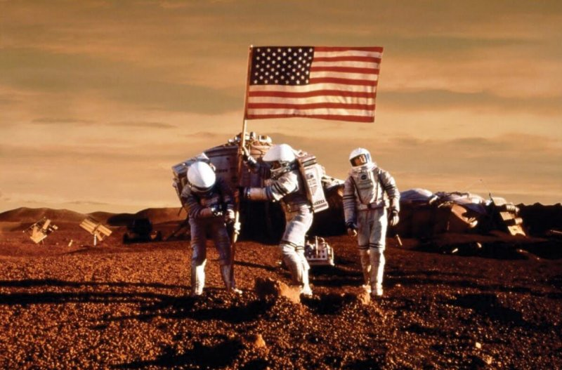 a Mission to Mars Pic