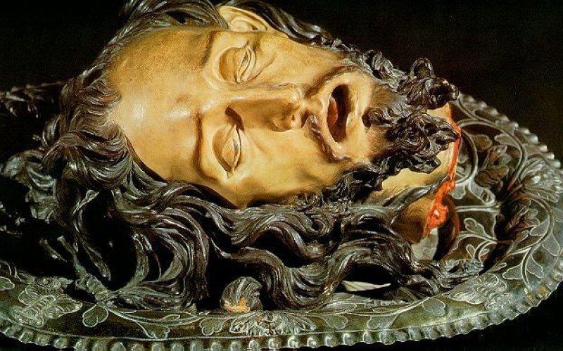Head of St. John the Baptist. Credit: Ruiz del Moral
