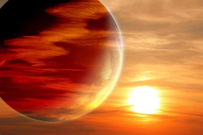 alien hydrogen planet concept