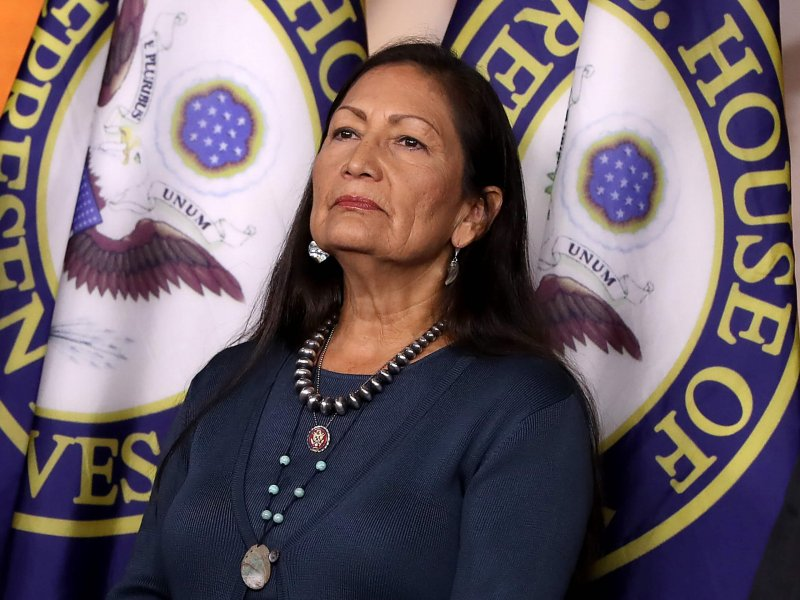 Deb Haaland. Credit: Chip Somodevilla/Getty Images