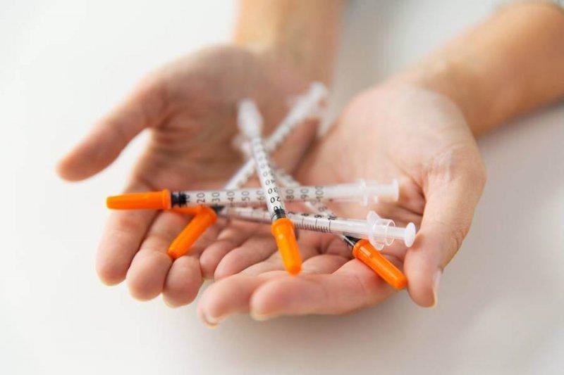 diabetes insulin syringes t
