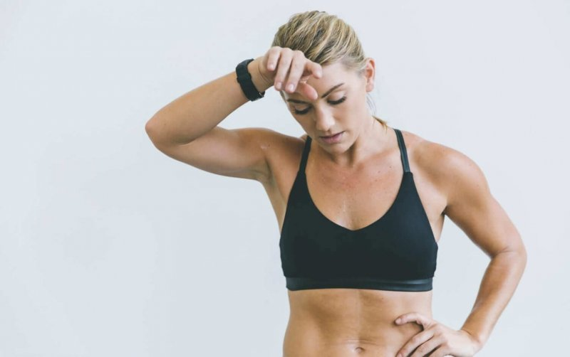 doctors give advice on working out while sick