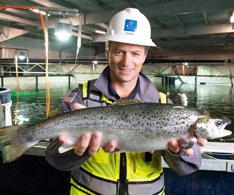 Johan Andreassen, Chairman and Co-founder of Atlantic Sapphire. Credit: Atlantic Sapphire