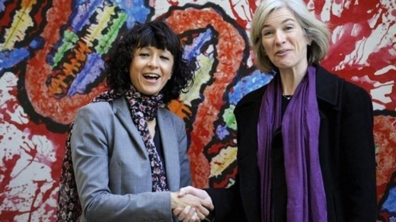 Jennifer Doudna (right) and Emmanuelle Charpentier. Credit: Reuters