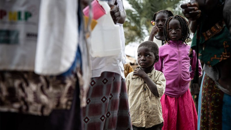 Community health workers distribute medicine aimed at preventing seasonal malaria in Burkina Faso. A recent successful clinical trial has raised hopes for a vaccine against the disease. Credit: Lympia De Maismont/AFP/Getty Images