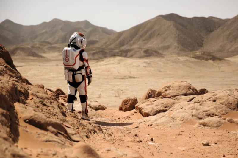 mars radiation trip
