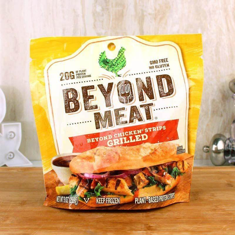 meat beyond meat chicken free grilled strips x