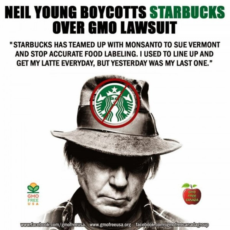neil young boycott starbucks x