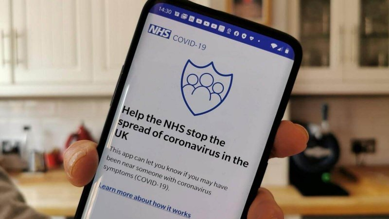 nhs coronavirus app how the contact tracing app works thumb