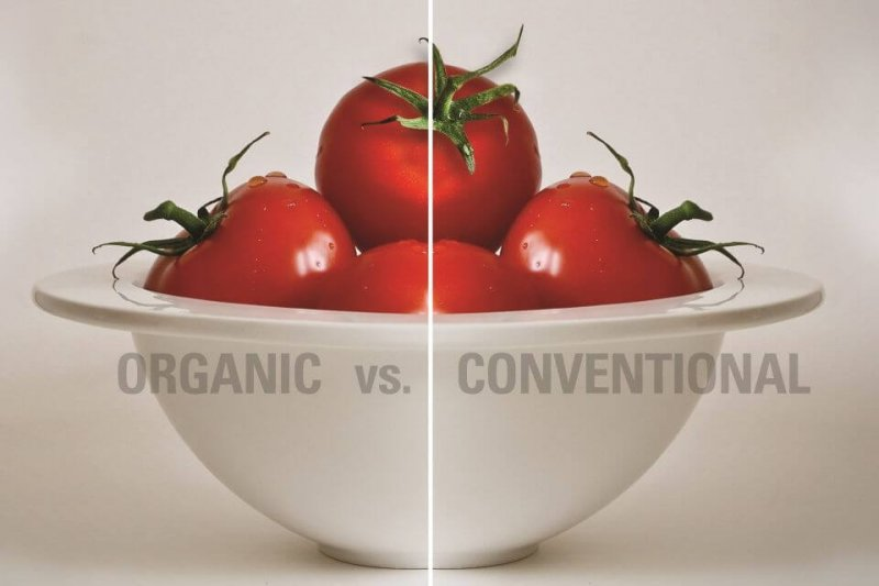 organic vs conventional prices