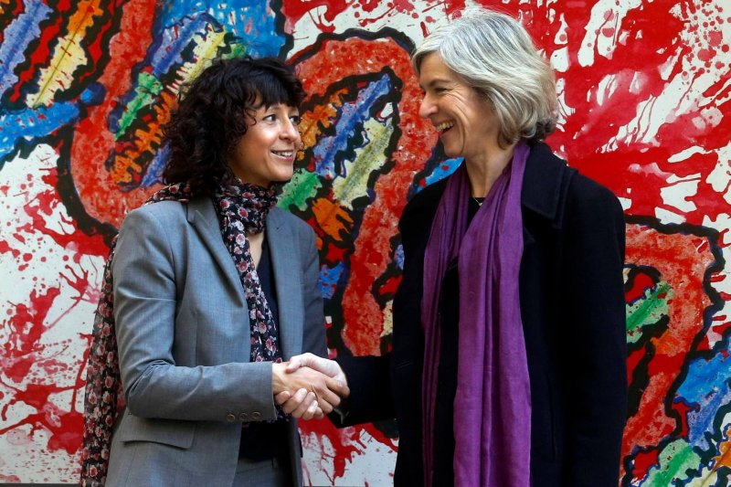 Emmanuelle Charpentier and Jennifer Doudna. Credit: Eloy Alonso
