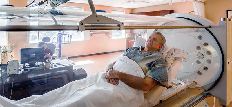 pet scans shows hyperbaric oxygen therapy improves alzheimer disease in the aged