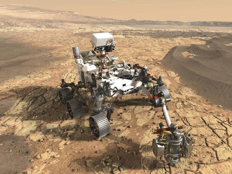 pia mars rover artistconcept