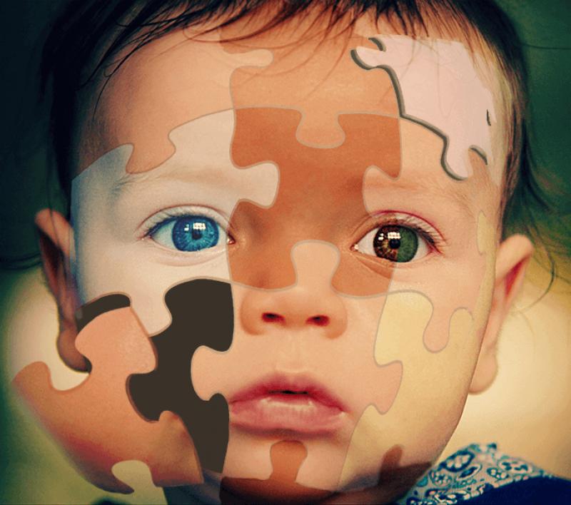 puzzle baby flyaway