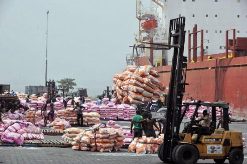 rice at Abidjan