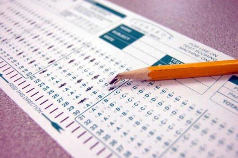 scantron test sheet x