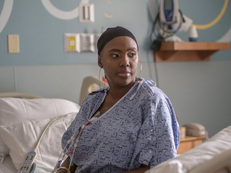 Victoria Gray was diagnosed with sickle cell disease when she was an infant. She was considering a bone marrow transplant when she heard about the CRISPR study and jumped at the chance to volunteer. Credit: NPR