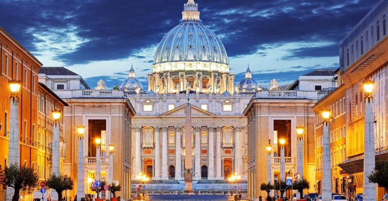 stock vatican peters basilica x