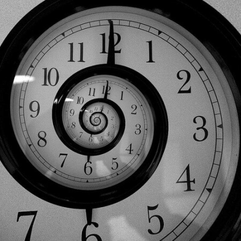 time spiral clock